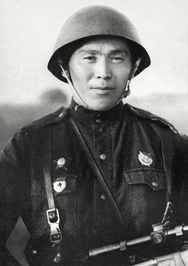 Прославленный снайпер Тулеугали Абдыбеков