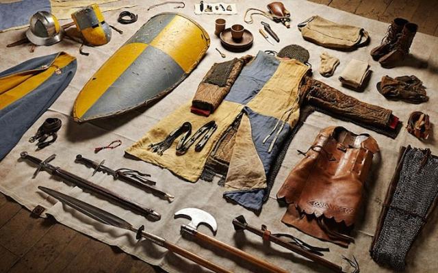 Как изменилась боевая экипировка солдат за 1000 лет