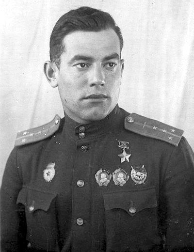 Герой Советского Союза Андрей Яковлевич Баклан