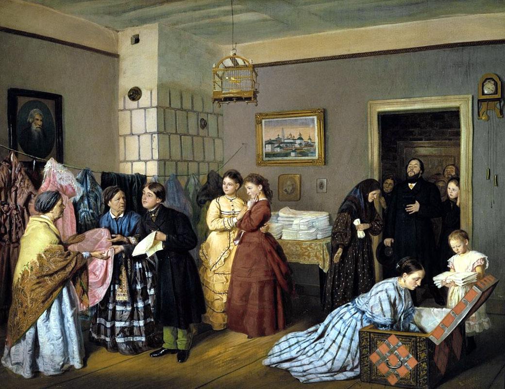 История одного шедевра: «Неравный брак» Пукирева
