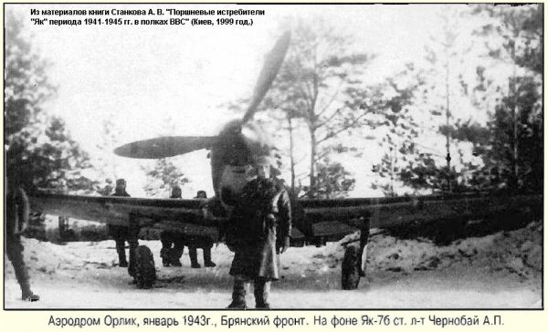 Мастер воздушного боя Андрей Петрович Чернобай