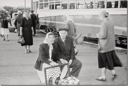 Швейцарский репортер в Москве 1957-го