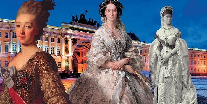 Дармштадтские принцессы при русском дворе