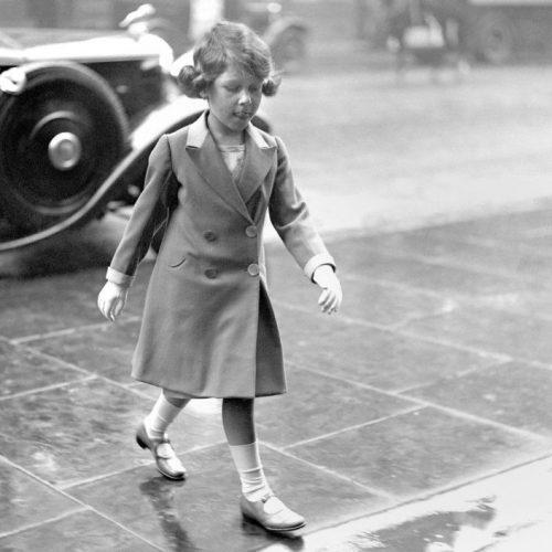 Детские фотографий королевы Елизаветы II