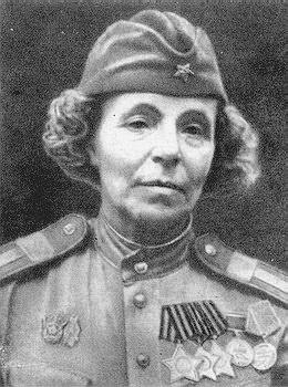 Героическая женщина - снайпер Нина Петрова