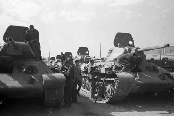 Легендарный танк Великой Отечественной Т-34