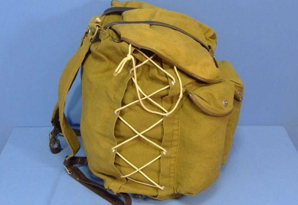 История советского туристического рюкзака