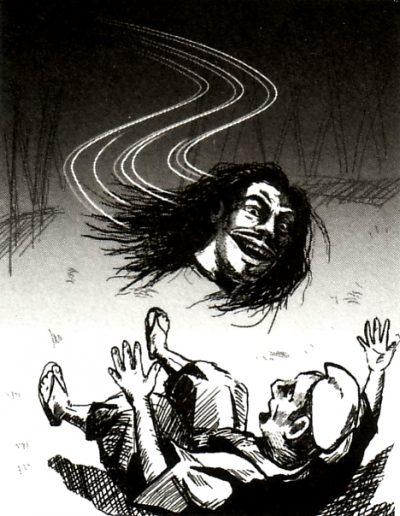 Голова самурая: страшная легенда Токио