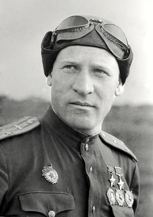 Дважды Герой Советского Союза Василий Зайцев