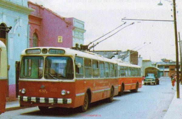 Советский троллейбус