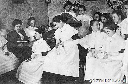 Как жили барышни в институтах благородных девиц