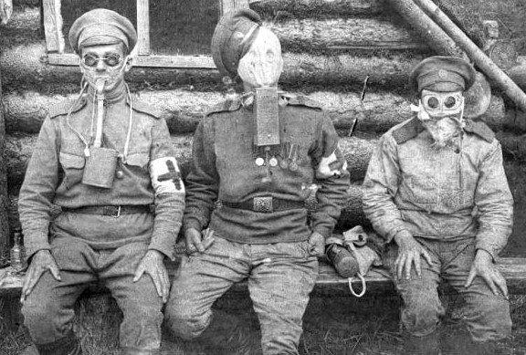 Окопный быт и юмор Первой Мировой