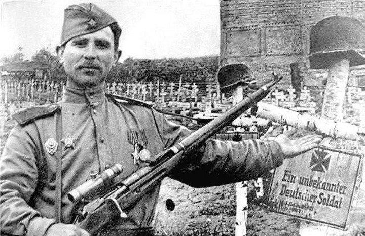 Невозможный выстрел: троих фашистов одной пулей