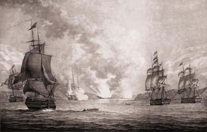 Средиземноморский русский адмирал Сенявин