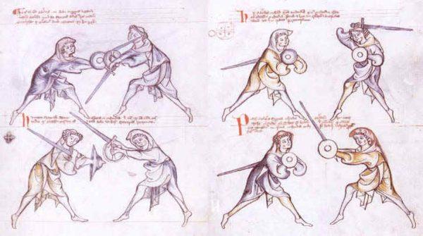 Средневековый кулачный щит – баклер