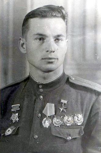 Воздушный охотник Иван Лавейкин