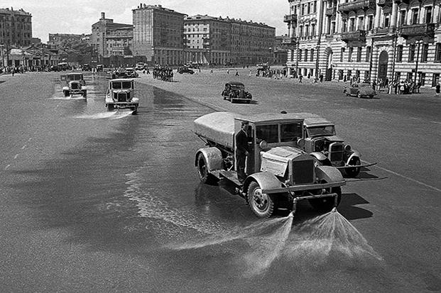 Пленные немцы на улицах Москвы