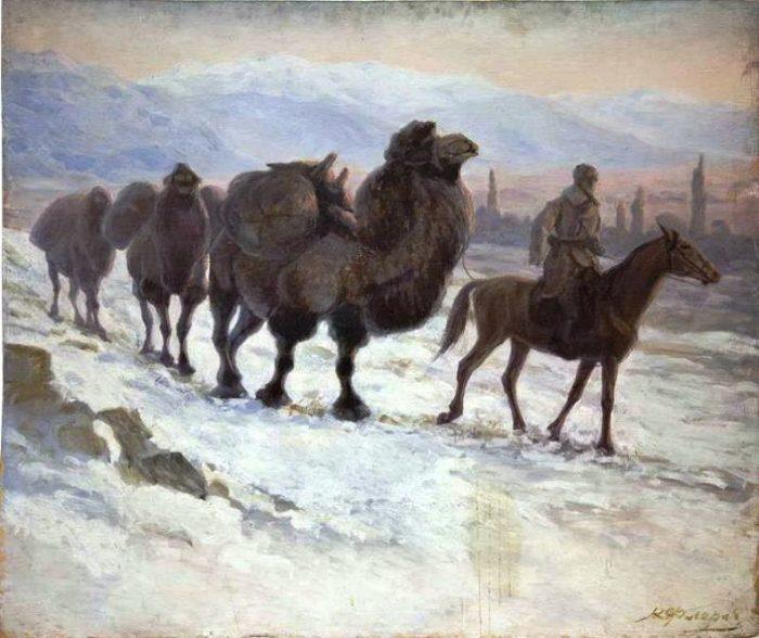 Боевые верблюды: плевок в лицо фашизма