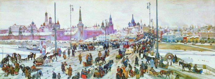Как в России регулировали дорожное движение?