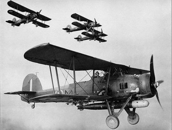 Союзники. Целый флот и один самолет