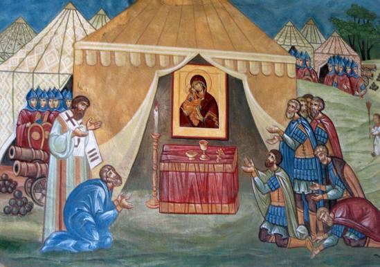 Последний набег крымских татар на Москву
