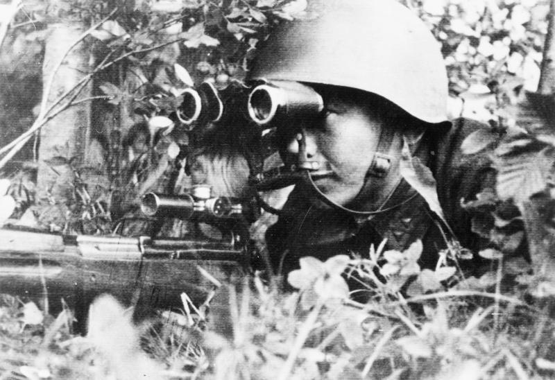 Советский снайпер из Бурятии сбивал даже самолеты