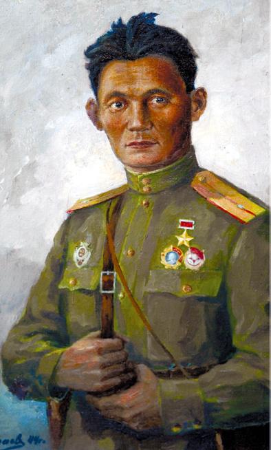 Жамбыл Тулаев уничтожил 313 гитлеровцев