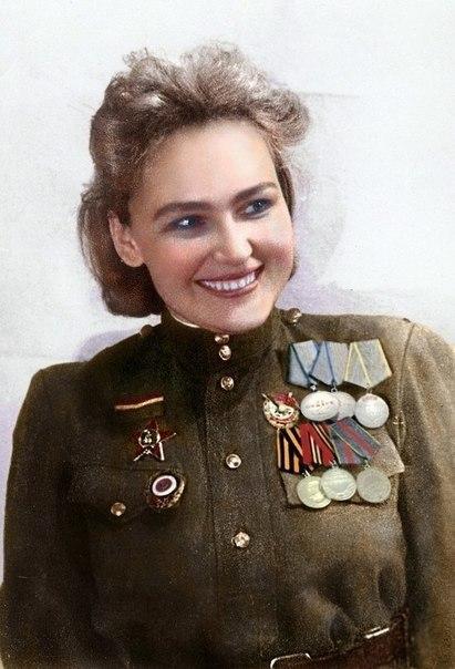 Софья Аверичева - разведчик и актриса