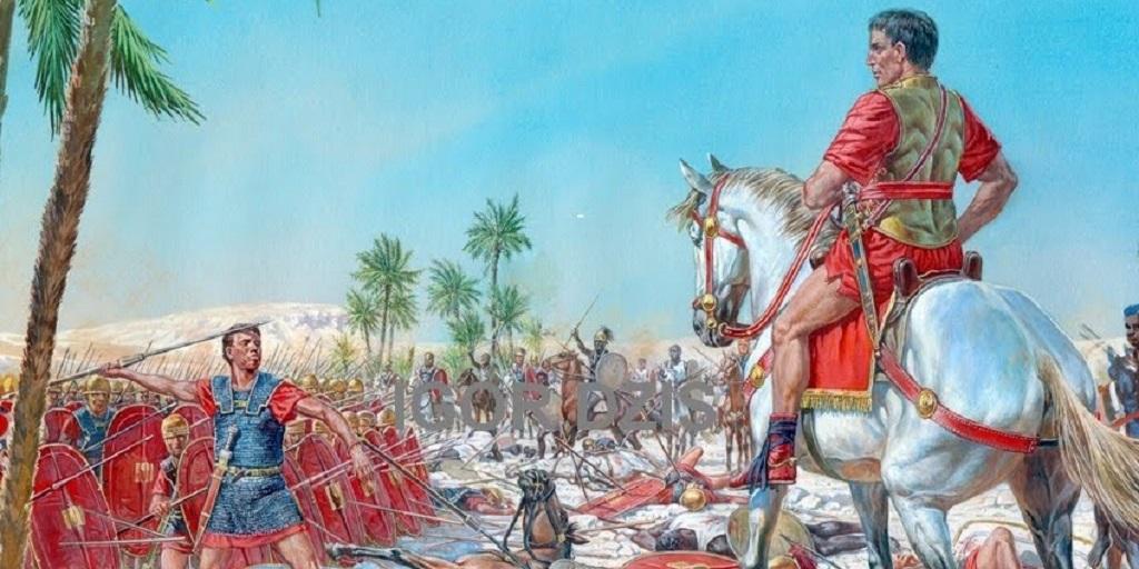 Гражданская война в Африке. Битва при Руспине