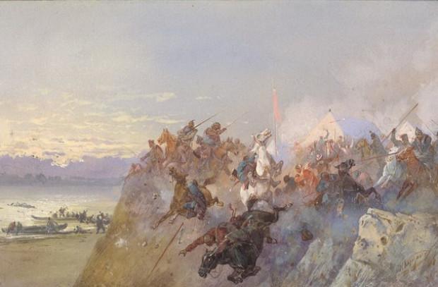 Битва на реке Ирмень: последний бой хана Кучума с русскими