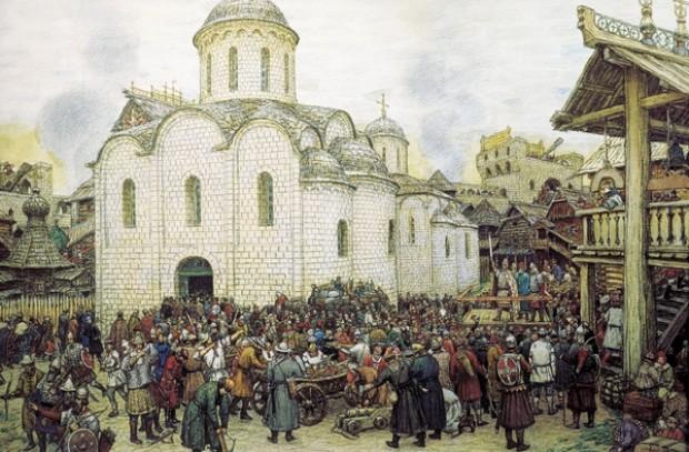 Нашествие Тохтамыша на Москву