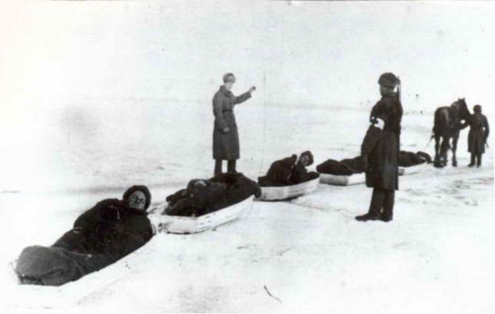 Как медики спасали раненых в Сталинграде