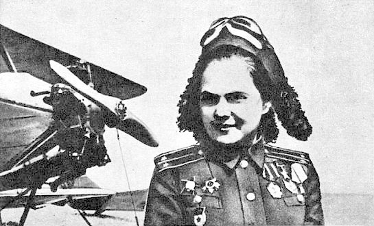 Катя - штурман бомбардировочной авиации