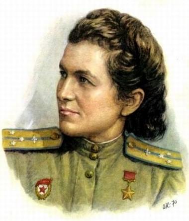 Герой Советского Союза Сыртланова Магуба Гусейновна
