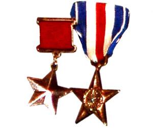Американская звезда на мундире красноармейца