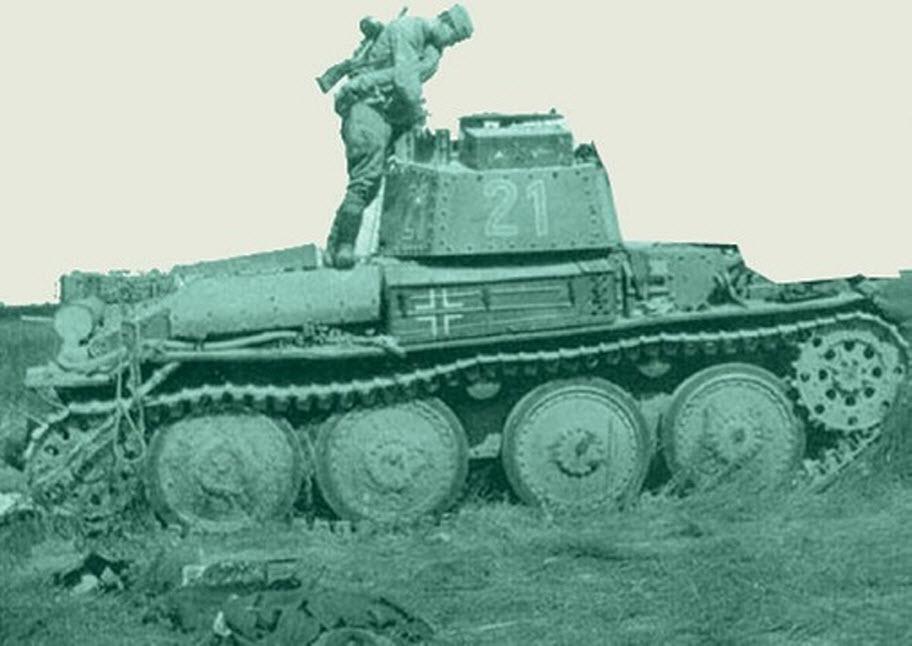 Как кашевар обезвредил топором немецкий танк