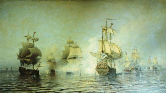 Тактика русского парусного флота