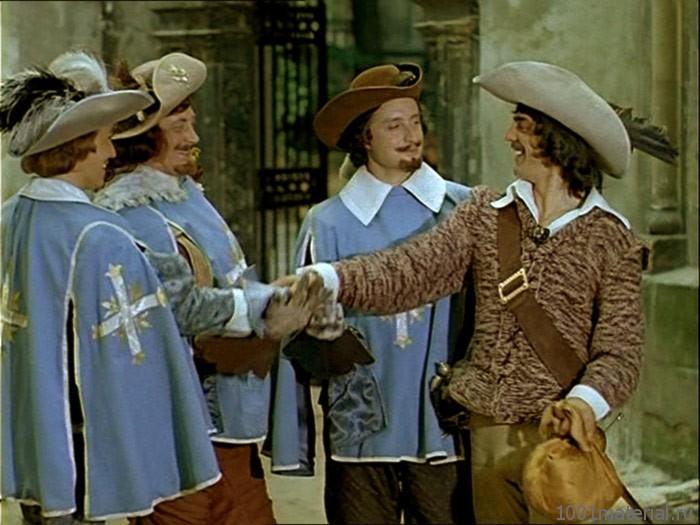 Как снимался фильм «Д'Артаньян и три мушкетера»