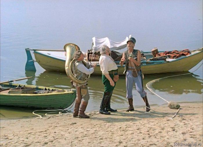 Как снимали фильм «Трое в лодке, не считая собаки»