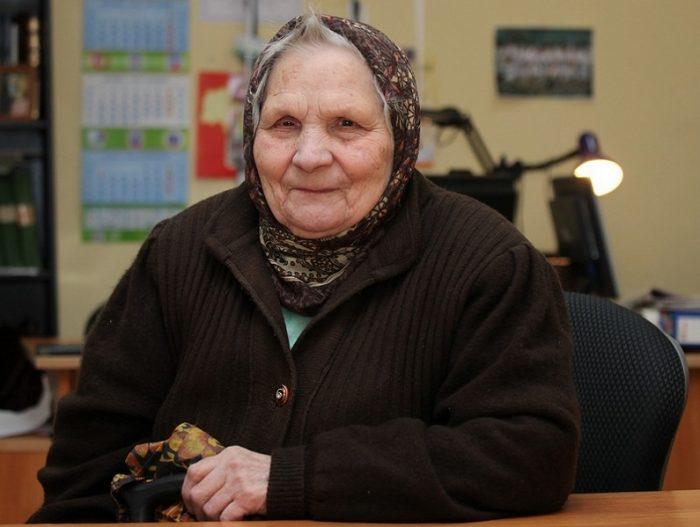Анастасия Захарова — боец трудового фронта