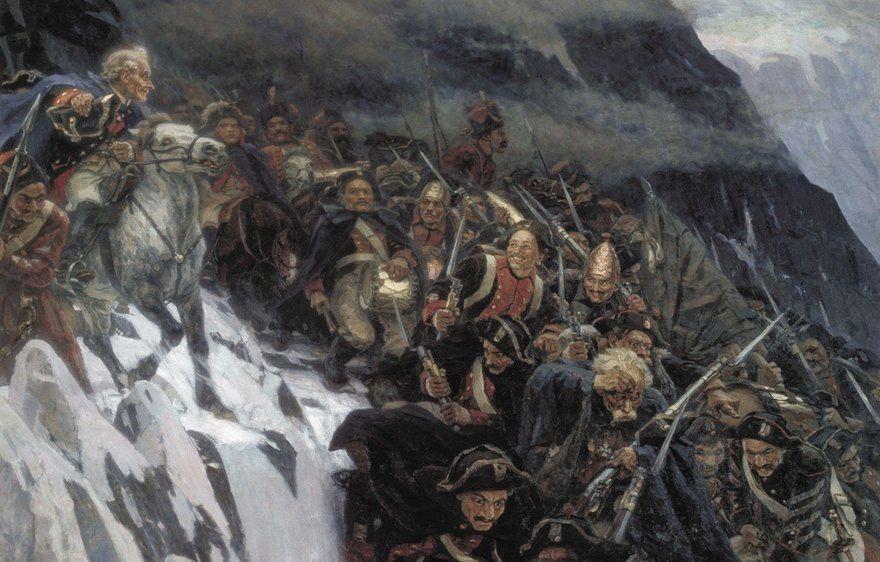 Переход Суворова через Сен-Готард