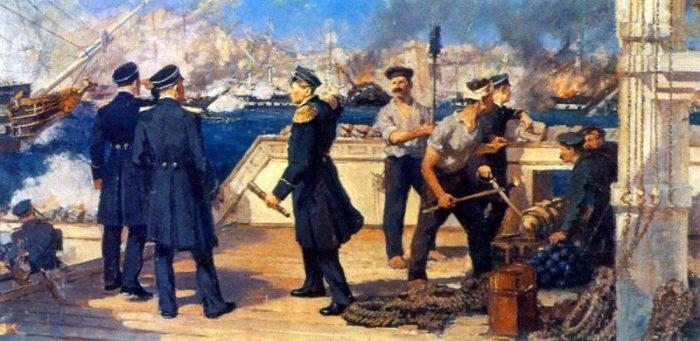 Как русский флот уничтожил турецкую эскадру в Синопском сражении