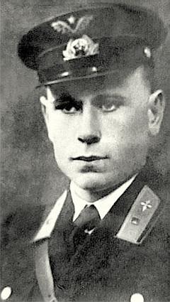 Бесстрашный лётчик Соломатин