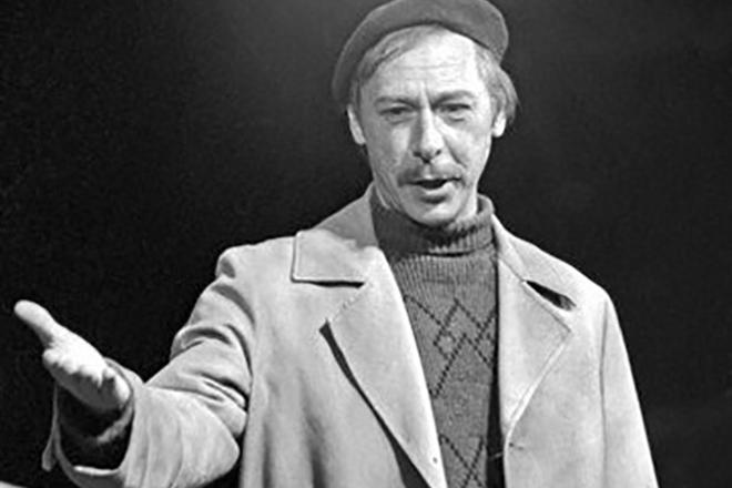 Легендарный советский актер Олег Ефремов