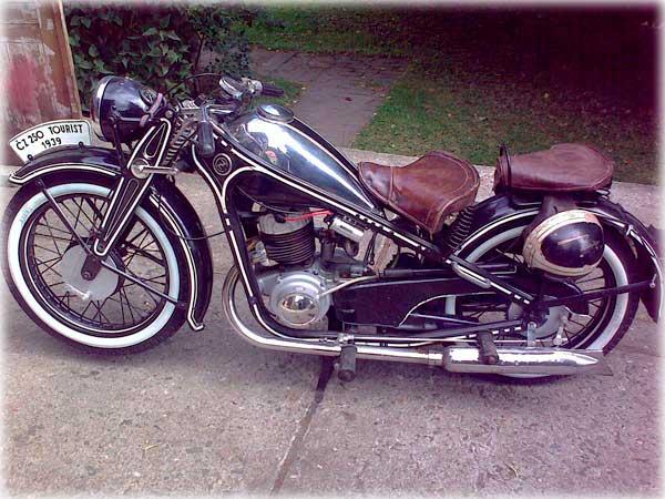 Мотоцикл Чезет 350
