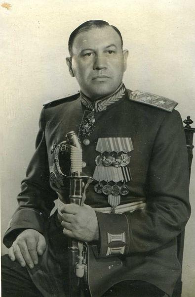 Комендант Кузьма Синилов