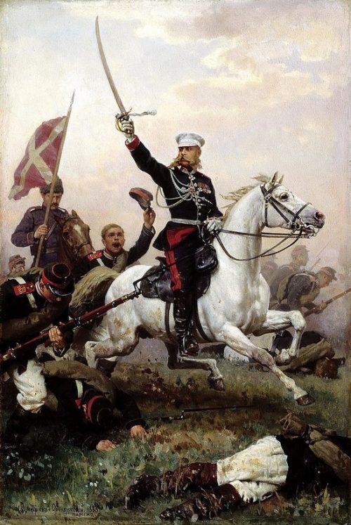 «Белый генерал» Михаил Скобелев