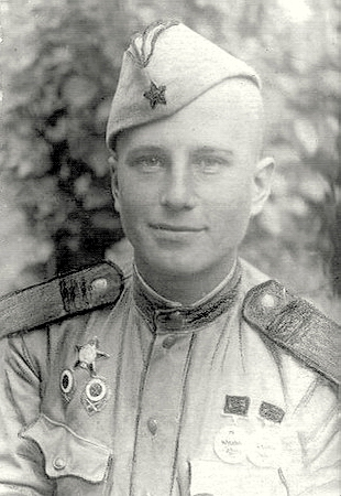 Снайпер - истребитель Федор Харченко
