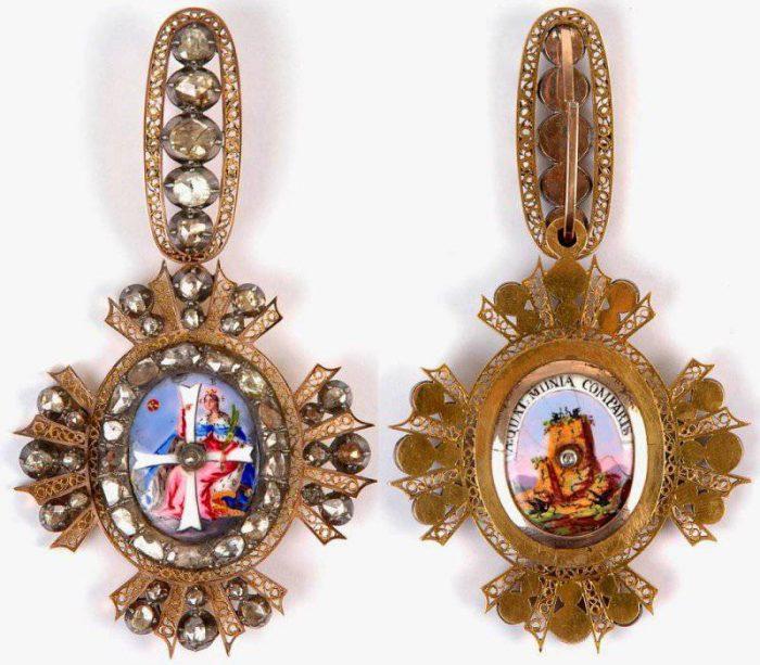 Ордена и медали Российской империи. Орден Святой Екатерины
