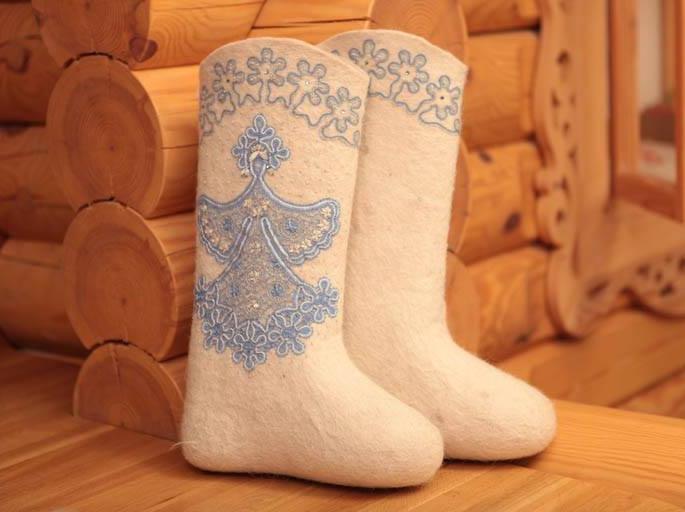 Валенки: обувь царских дворцов и модных подиумов